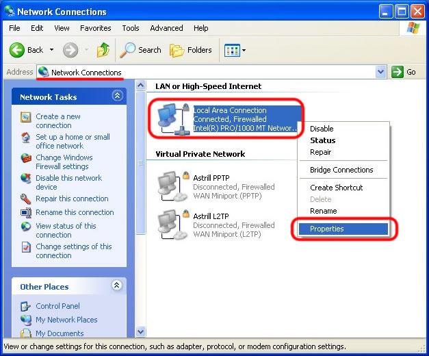 xp set dns and flush cache 001 - تغییر dns در سیستم عاملها 27 فروردین 1396