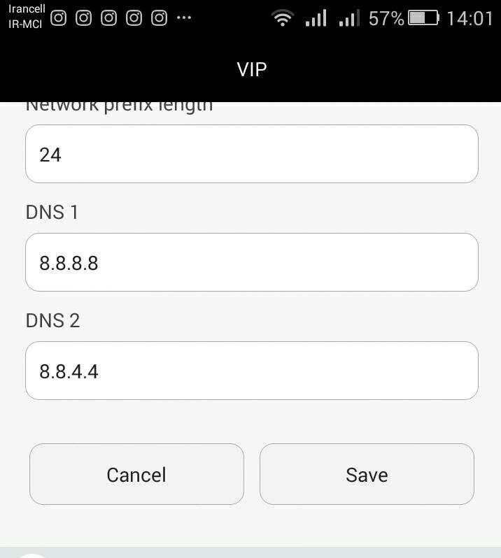 dns andorid - خبر مهم در مورد فیلتر شدن dns ها