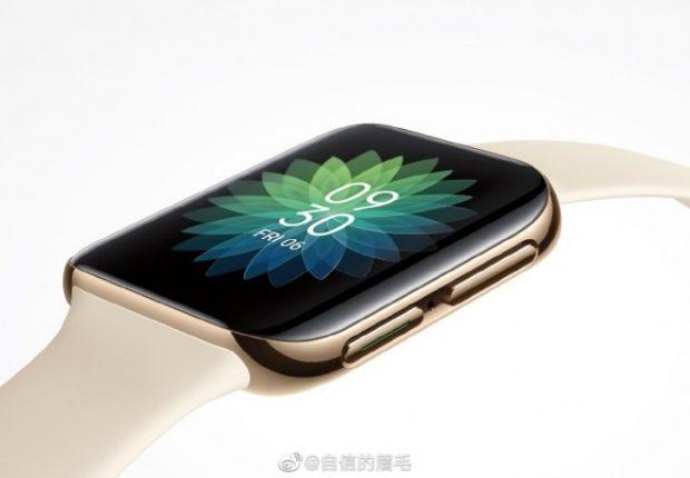 oppo smartwatch 620x430 - اولین رندر رسمی ساعت هوشمند اوپو توسط مدیران این شرکت منتشر شد