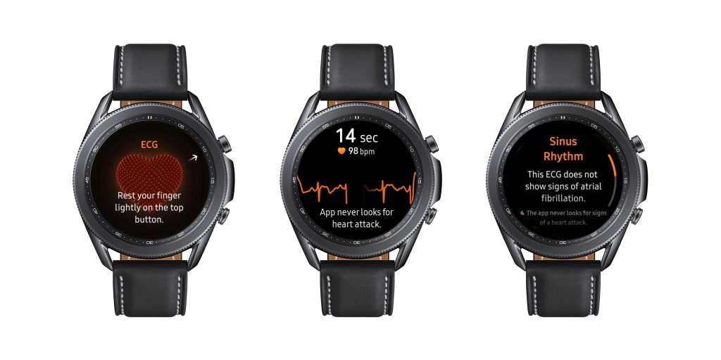 ECG feature comes to Samsung Galaxy Watch 3 and Samsung Galaxy Watch Active2 1 - قابلیت ECG در گلکسی واچ ۳ و واچ اکتیو ۲ فعال شد